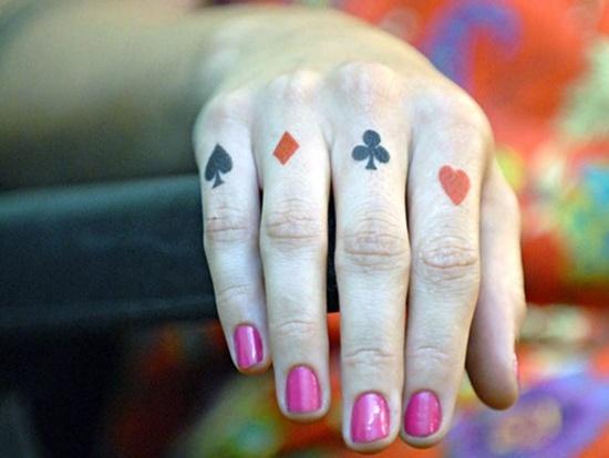 Ace of Spades Tattoos