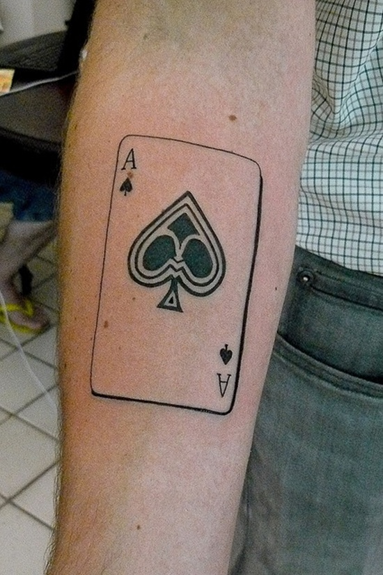 26 Ace Of Spades Tattoos Designs And Meanings