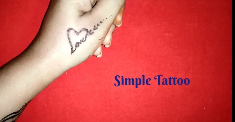 Love Tatoo Design Simple Heart Love Tattoo Design On Hand Tattoos Of Love Hearts Fashion Wing Tattoo Blog