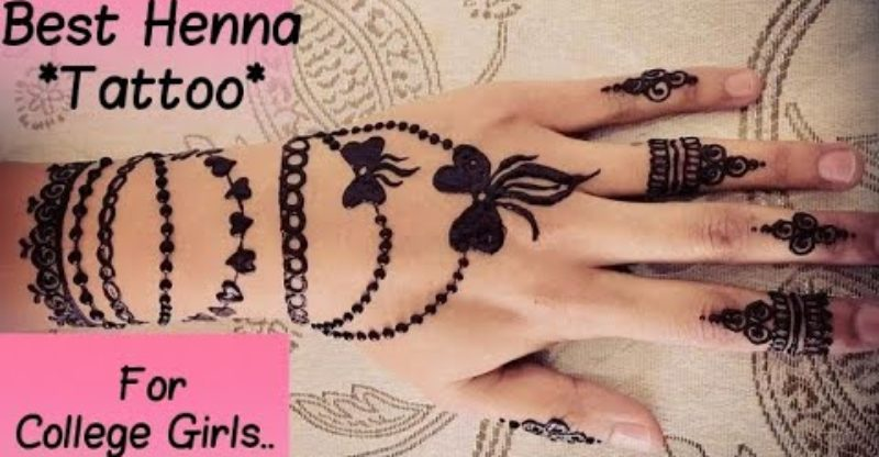 Best Henna Tattoo Design For College Girls 2019 Bracelet Mehndi Design Tattoo Blog